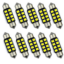 Universal Car Festoon Canbus 8SMD LED Car Interior Dome Map Light Bulb Lamp *2