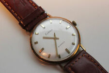 Estima HAU Herrenuhr, Gents Wristwatch, Gold 585, ca. 1970, TOP Zustand