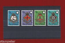 1973 Ascension Island Royal Navy SG 166/9 Set of 4 MUH