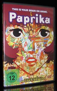 DVD PAPRIKA - 2 DISC-SET - Satoshi Kon (PERFECT BLUE + TOKYO GODFATHERS) * NEU *
