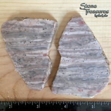 Kona Dolomite Slabs, 92 grams, Lapidary Rough Slabs for Cabbing