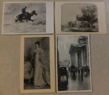 ART POSTCARDS: HOPKINSON SMITH - SCHREYER - SINGER SARGENT - REMBRANDT VAN RIJN