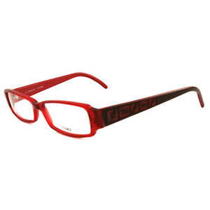 Fendi Women Eyeglasses FF664 603 Red 53 14 140 Frames Rectangle