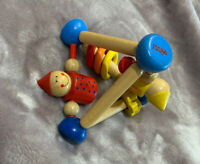 HABA Mini Maze Triangle Wooden Toy VTG