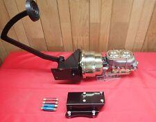 "1947-1954 CHEVROLET TRUCK BRAKE Pedal 7"" Dual Brake Booster & Master Cylinder"