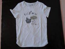 12 ans - tee-shirt blanc - CATIMINI - NEUF juste lavé, jamais porté - fille