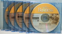 College Pro Business software set of 5 CD-ROMs, never used. In black CD holders.