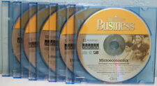 College Pro Business software set of 5 CD-ROMs not used. CD holders not included