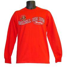 Cornell Big Red Hockey Campus Customs Red Teams Wave Longsleeve Tee - XLarge