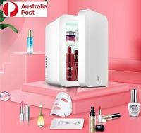 Beauty Cosmetic Fridge Portable 8L LED Makeup Mirror Door Mini Skincare Cooler