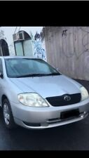 Wrecking a Silver Toyota Corolla ZZE122r For Parts Suit 2001 02 03 2004 Models