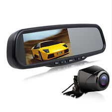 AUTOVOX 4.3″ Rear view Mirror with Car DVR & Rear View Parking Camera + 32G Card