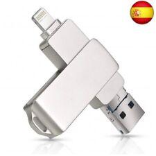 Memoria USB para iPhone iOS, 3 en 1 256.00GB 256 GB (256 GB)
