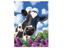 3D LiveLife Poster - Curious Cow + WARRANTY✓ AUTHENTIC✓