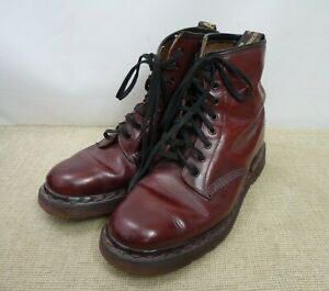 Dr Martens - Boots - Oxblood Red - approx Size 7 | Thames Hospice