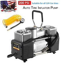 Car Air Compressor 150PSI Tire Inflator Auto Portable Electric Pump DC 12V Volt