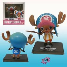 "ONE PIECE/ FIGURA TONY TONY CHOPPER NEW WORLD 7 CM-  DEAD OR ALIVE 2,7""  IN BOX"