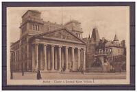 Ansichtskarte - Aachen - Theater und Denkmal Kaiser Wilhem I.