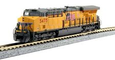 Kato 176-8922 N Scale Locomotive GE ES44AC Union Pacific #5475 Flag