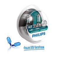 Philips H7 X-treme Vision +130% mehr Licht 2St 12972XV + W5W WhiteVision 2er Set