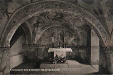 KRIEBSTEIN, Ansichtskarte 1962, Kreismuseum Burg Kriebstein 1000-jährige Kapelle