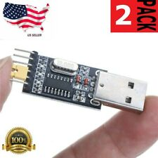 2 PC 6 Pin USB 2.0 to TTL UART Module Serial Converter CH340G Module STC 5V/3.3V