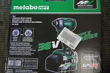 NEW - Metabo HPT 36V Cordless Triple Hammer Impact brushless Driver - WH36DB