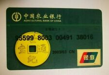 Agricultural Bank Of China Mastercard Maestro Credit Card Bank Card EXPIRED