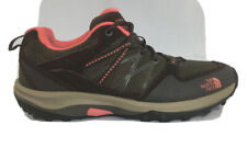 The North Face brown pink Womens Ladies trail hiking athletic tennis Shoes 9
