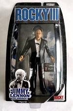 JIMMY LENNON • RING ANNOUCER • ROCKY III JAKKS FIGURE CARDED