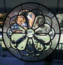 Beveled Glass circle......12 x 12""