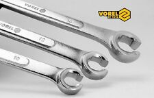3 tlg Bremsleitungsschlüssel Satz 10-17mm Offener Ringschlüssel Bremsleitung