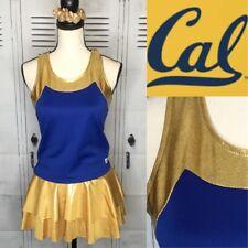Real Cheerleading Uniform Cal Berkeley Adult L