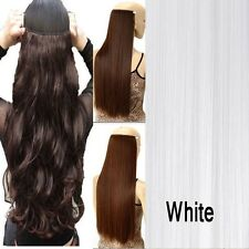 Lady Cosplay/Party/Wedding One Piece Clip in on Synthetic Human Hair Extensions