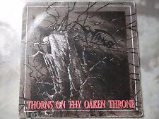 "WINGS - THORNS ON THY OAKEN THRONE 7"" EP - PRE ENOCHIAN CRESCENT 1993 FINLAND"