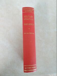 Military Operations East Africa - Vol. 1. hardcover excellent