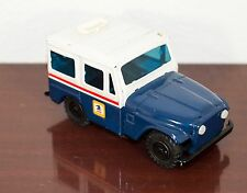 1960's PROMO USPS US MAIL JEEP PRESSED STEEL METAL WESTERN STAMPING COMPANY