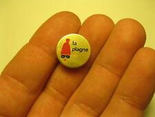 Vintage La Plagne pin badge shield USA SELLER