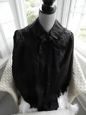 Antique Victorian Nineteenth Century Cape Fringe