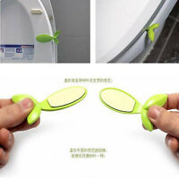 Fashion Leaf Shape Toilet Seat Handle Seat Cover Lifter Avoid Touching Clean