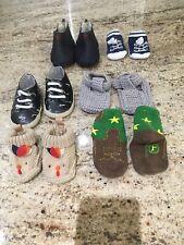 Baby Boy 0-3M Shoes LOT!!!