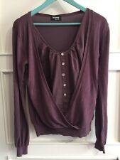 Vintage Pull Femme Sinequanone Taille 2 - Prune