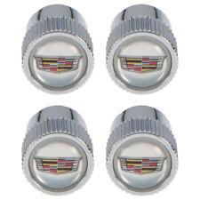 OEM Genuine GM Tire Valve Stem Caps w/Crest Logo 15-18 ATS 12-13 CTS 23473652