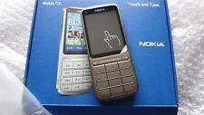 Nokia C3-01 - Khaki  Gold  (Unlocked) Mobile Phone