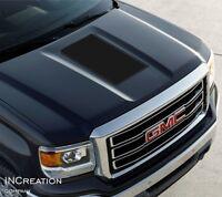Truck Decal For GMC Sierra 1500 HD Hood Vinyl Stripe Rally Sticker racing Custom