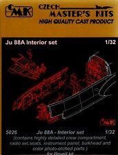 Czech Master 1/32 Ju88A Interior set for Revell # 5026