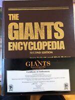 San Francisco Giants Baseball Encyclopedia Book Signed 11 Players #140/250 SGA
