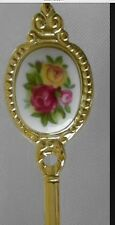 Royal Albert Doulton Old Country Roses Gold Demi Spoon Discontinued