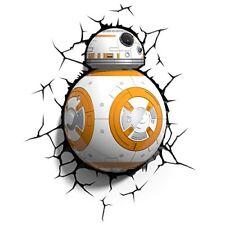 Star Wars Bb-8 3d LED Applique murale 816733020150
