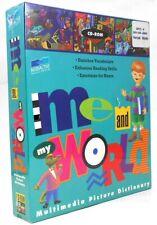 CD-ROM Me and My World - Windows/Mac New Sealed